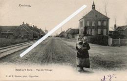 99Av   Belgique Kruisweg Zich In 't Dorp Vue Du Village - Belgique