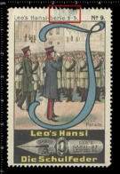 Old Poster Stamp Cinderella Reklamemarke Erinnofili Vignette Scout Erkunden Parade. - Scoutismo