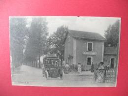 Carte   Humbecourt    La Gare  - Le Passage à Niveau De La Gare  1918 - Altri Comuni