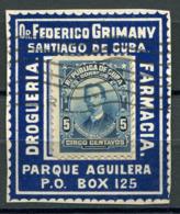 """CUBA PORTE-TIMBRE DONT PUBLICITE THEME """" FARMACIA """" - Apotheek"""