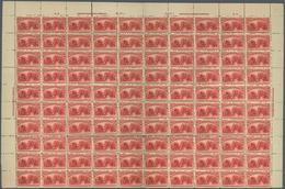 Vereinigte Staaten Von Amerika: THE RECENTLY DISCOVERED  UNIQUE COMPLETE PANE OF 100 OF THE USA $2.0 - 1847-99 Unionsausgaben