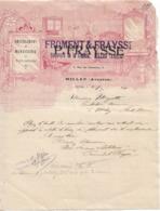Lettre Commerciale De Froment Et Fraysse, De Millau, 10/3/1911 - France