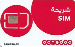 Algeria - Ooredoo - RED 4G (Type #1) GSM SIM Mini-Micro-Nano, Mint - Algeria