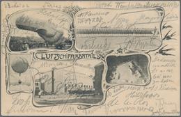 Zeppelinpost Deutschland: 1902, BERLIN REICHSTAG 23.5.: Dort Gestempelte Bildkarte Des Luftschifferb - Luftpost