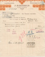 2 Factures Des Carrelages Barthels, Lille, 27/6 Et 20/9/1932 - France