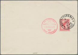 Zeppelinpost Deutschland: 1929. German Zeppelin Postcard Flown On The Graf Zeppelin LZ127 Airship's - Luftpost