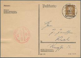 Zeppelinpost Deutschland: 1929. German Printed Matter Flown On The Graf Zeppelin LZ127 Airship's 192 - Luftpost