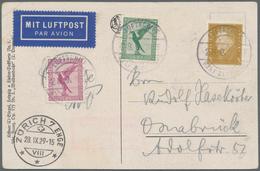 Zeppelinpost Deutschland: 1929. God Comes From The Forest Postcard Flown On The Graf Zeppelin LZ127 - Luftpost