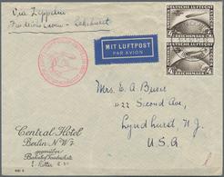 Zeppelinpost Deutschland: 1930. Original Airmail Cover Flown On The Graf Zeppelin Airship's May 1930 - Luftpost