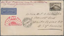 Zeppelinpost Deutschland: 1931. German Cover Sent On The Graf Zeppelin LZ127 Airship's 1931 Polarfah - Luftpost