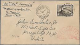 Zeppelinpost Deutschland: 1931. German Cover Flown On The Graf Zeppelin LZ127 Airship's 1931 Polarfa - Luftpost