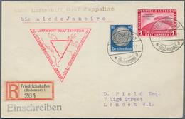 Zeppelinpost Deutschland: 1933. German Cover From Friedrichshafen Flown On The Graf Zeppelin Airship - Luftpost