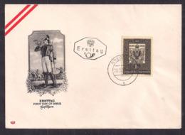 Österreich - 1950 - 100 Jahre Österreichische Briefmarke - FDC