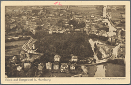 Zeppelinpost Deutschland: LZ 129 BORDPOSTKARTEN 14.9.36 REICHSPARTEITAGFAHRT Und 16.9.36 FHFN-FRANKF - Luftpost