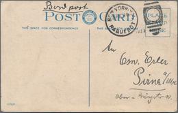 Zeppelinpost Deutschland: 1937, Luftschiff Hindenburg LZ 129, 1.Nordamerikafahrt, Postkarte Der UNGL - Luftpost