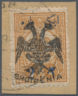 Albanien: 1913, Double Headed Eagle Overprints, 2pa. On 5pa. Ocre, Fresh Colour And Normally Perfora - Albanien