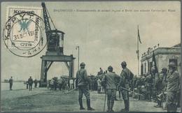 Albanien - Lokalausgaben: KORYTSA Republic, 1917, 5 Cts Green/black 'double Eagle', Tied By Cds KORY - Albanien