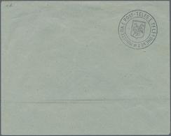 Albanien - Ganzsachen: 1913, (1 Gr) Black On Blue Postal Stationery Cover, Unused, Signed - Albanien