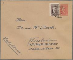 Albanien - Ganzsachen: 1926, 10 Q Brick-red Postal Stationery Cover With Additional Franking 15 Q Br - Albanien