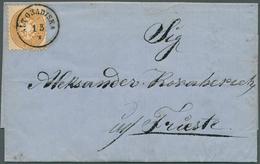 Bosnien Und Herzegowina: 1865, Entire Letter From BANJA LUKA 14 April To Triest (slight Tear At Top - Bosnien-Herzegowina