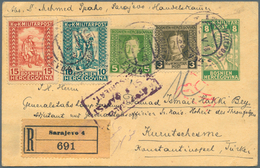 Bosnien Und Herzegowina: 1918, 8 H Green Warrior Psc, Uprated With 3 H And 5 H Karl I. Together With - Bosnien-Herzegowina