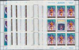 Bosnien Und Herzegowina - Serbische Republik: 1997, Europa, Both Issues In 5 Little Sheets Of 8 Stam - Bosnien-Herzegowina