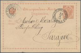 """Bosnien Und Herzegowina - Ganzsachen: 1898, """"K.und K.FELDPOST EXPOSITUR N1A PRJEPOLJE"""" Rare Circle C - Bosnien-Herzegowina"""