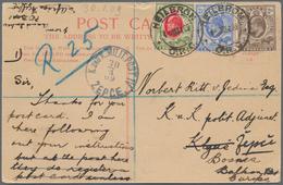 Bosnien Und Herzegowina - Besonderheiten: 1909, INCOMING MAIL: Oranjefreistaat, 2 D Braun, 2 1/2 D B - Bosnien-Herzegowina