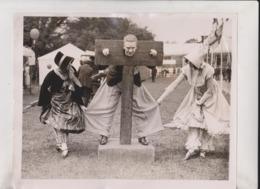 PRINCE ARTHUR GARDEN FETE OF CONNAUGHT ROYAL BOTANIC GARDENS OXFORD PILLORY 25*20CM Fonds Victor FORBIN 1864-1947 - Fotos