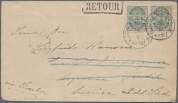 Dänemark: 1890 Destination ARGENTINA: Cover From Copenhagen To The Danish Consulate In Tandil, Argen - 1864-04 (Christian IX)