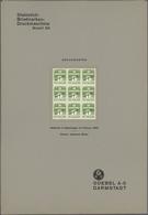 Dänemark: 1933 Printing PROOF Of 1øre Definitive In Light Green (instead Of Greenish Black As Issued - 1864-04 (Christian IX)