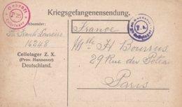 Kriegsgefangenensendung, Correspondance Prisonniers De Guerre 25.05.1946 - Germany