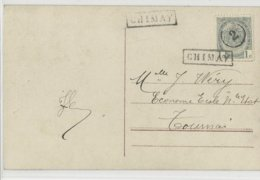 N°81annul 2 + GFF CHIMAY - 1893-1907 Armoiries