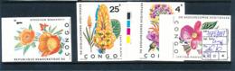 CONGO KINSHASA ZAIRE COB 778/781 IMPERFORATED MNH - Neufs