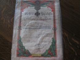 CERTIFICAT DE BONNE CONDUITE  146 ème REGIMENT D INFANTERIE  1933 - Historical Documents