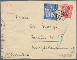 Jugoslawien: 1940 - KOTOR-HERCEGNOVI 322 Ship Post Office Cancel On 3d Entente Balkanique And 1,50d - 1919-1929 Königreich Der Serben, Kroaten & Slowenen