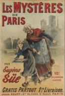 @@@ MAGNET - Les Mystères De Paris Par Eugène Süe. Gratis Partout. 1ere Livraison. Jules Rouff & Cie 14 Cloître St Honor - Publicitaires