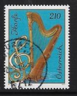 Muziekinstrumenten  Harp - 2011-... Oblitérés