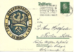 Stralsund Autopostal, Flamme Sur Entier Postal Illustre 1931 - Poststempel - Freistempel
