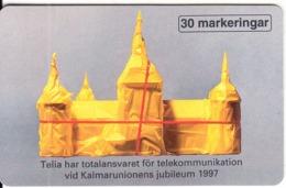 SWEDEN(chip) - Kalmar Nordens Huvudstad 1997, Tirage 75500, 11/96, Used - Schweden