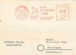 AFS 20b Wolfenbüttel - Das Singende Jahr - Möseler Verlag 1954 Sänger Chor - [7] République Fédérale