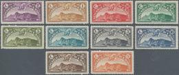 San Marino: 1931, Air Mail, Sassone A1/10 Mint Never Hinged. Catalogue Value 2000 € - San Marino