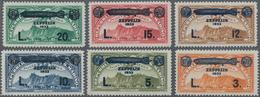 San Marino: 1933, Zeppelin, Sassone 11-16 Mint Never Hinged. Catalogue Value 600 € - San Marino