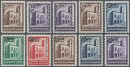 San Marino: 1933/1934, Overprints. Sassone 176/185 Mint Never Hinged. Catalogue Value 2300 € - San Marino