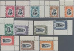 San Marino: 1935, Melciorre Delficio, Sassone 193-204 Mint Never Hinged. All Stamps With Corner Marg - San Marino