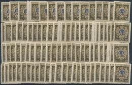 San Marino: 1946, Welfare, 100 X Sassone 297 Mint Never Hinged. Catalogue Value 5000.- €. - San Marino