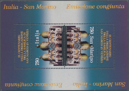 "San Marino: 1994. Joint Issue Italy-San Marino ""San Marco Basilica In Venice"", Mint Never Hinged Wit - San Marino"