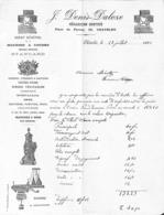 Châtelet - J Denis Daloze - Machine à Coudre, à Bras, Vélocipèdes... 1892 (belles Illustrations) - Belgium