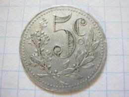 Algeria 5 Centimes 1916 - France