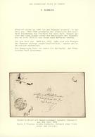 "Türkei - Stempel: 1857, ""AN CANIBI-I POSTA ISKODRA"" Clear Cancellation On Envelope To Constantinople - Otros"